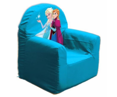 Disney Poltrona per Bimbi Frozen Club Room 37x29x41 cm Blu ROOM234050