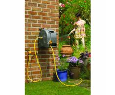 Hozelock Avvolgitubo con 25 m di tubo per l'irrigazione del giardino