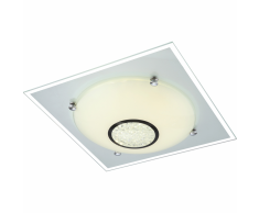 GLOBO Plafoniera LED AMADA in Vetro 48250