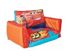 Disney 2-in-1 Divano Letto Cars Arancione 105x68x26 cm WORL320023