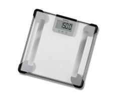 Inventum Bilancia pesapersone monitor corpo vetro trasparente PW705GB
