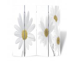 vidaXL Parete divisoria privacy divisorio 160 x 180 fiore