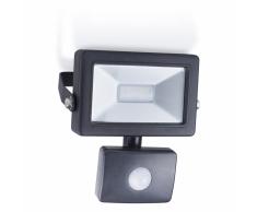 SMARTWARES Faretto LED con sensore 10 W nero SL1-B10B