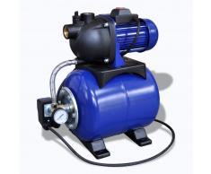 vidaXL Pompa da giardino elettrica 1200W Blu