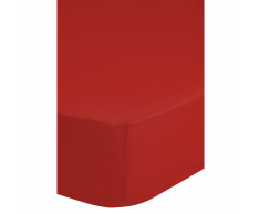 Emotion Lenzuolo con Angoli Jersey 90/100x220 cm Rosso 0200.80.43