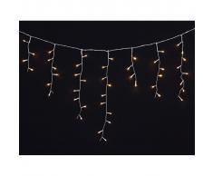 vidaXL Luci Natale LED a cascata 3,9 m., per interni e esterni