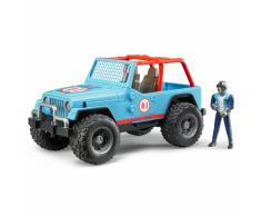 Bruder Veicolo fuoristrada con conducente Jeep Cross-country 1:16 02541