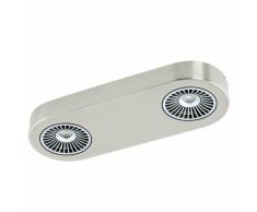 EGLO Lampada da soffitto a LED Montale in acciaio 31,5x11,5 cm 94181