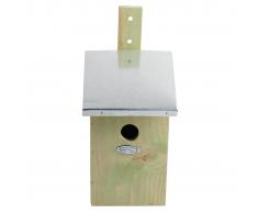 Esschert Design NKS Casetta nido per uccelli con specchio