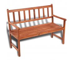 vidaXL Panchina da giardino classica in legno