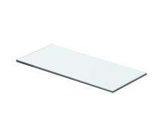 vidaXL Mensola in Vetro Trasparente 40x12 cm