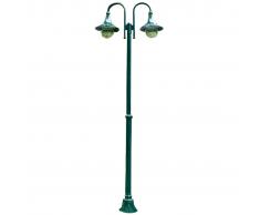 vidaXL Lampioncino da giardino Cernobbio 220 cm. 2 lanterne