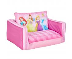 Disney Divano Pieghevole Princess 105x68x26 cm Rosa WORL660021