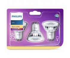 Philips 3 pz Lampadine per Faretti a LED Classic 35 W 929001217886