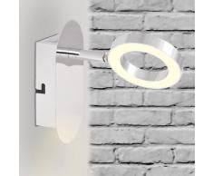 vidaXL Illuminazione LED a Parete con 1 Luce Bianco Caldo