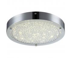 GLOBO Plafoniera LED MAXIME in Metallo Cromato 49212