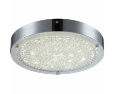 GLOBO Plafoniera LED MAXIME in Metallo Cromato 49212