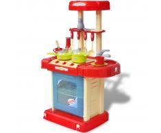 vidaXL Giocattolo bambini Cucina con luci ed effetti sonori