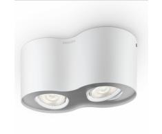 Philips Faretto LED myLiving Phase 2x4,5 W Bianco 533023116