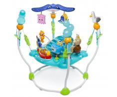 Disney Altalena Jumper con Giochi per Neonati Finding Nemo Blu K60701