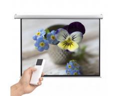vidaXL Schermo per Proiettore Elettrico con Telecomando 160x123 cm 4:3