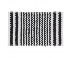 Sealskin Tappetino da bagno Motif 50 x 80 cm nero 294445419