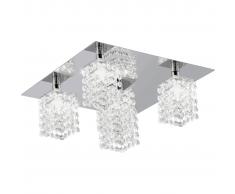 EGLO Pyton 85336 Lampada da soffitto di cristallo