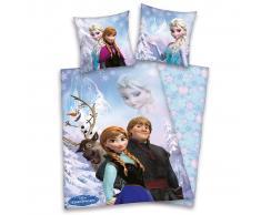Disney Set Copripiumino Bimbi Personaggi Frozen 200x140 cm DEKB234111