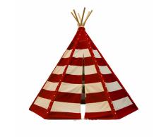 SUNNY Tenda Teepee Lumo con Led Rosso e Bianco C052.103.05