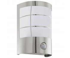 EGLO Lampada da giardino parete esterna 1 sensore Cerno Bianco 75237