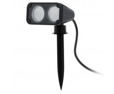 EGLO Faretto a LED da Esterno Nema 1 6W Nero 93385