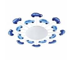 EGLO Lampada da parete / soffitto VIKI 1 blu 92146