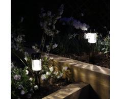 Luxform Lampada Solare da Giardino Macon 12 pz a LED
