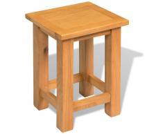 vidaXL Tavolino da Salotto in Massello di Rovere 27x24x37 cm