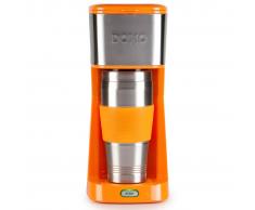 Domo DOMO Macchina per il caffè 2 in 1 650 W arancione DO439K