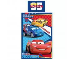 Disney Set Copripiumino Bimbi Cars Piston Cup 200x140 cm DEKB320050