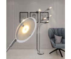 vidaXL Lampada da terra a LED dimmerabile 25 W