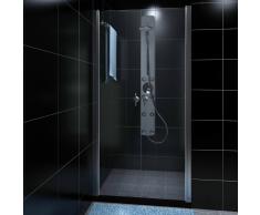 vidaXL cabina doccia in vetro 80 cm
