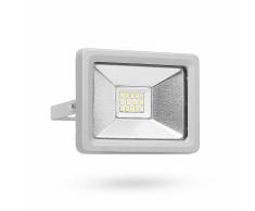 SMARTWARES Faretto LED 10 W Grigio FL1-DOB10