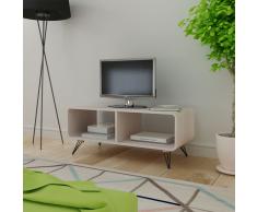 vidaXL Mobile Per Tv 90x39x38,5 cm In Legno Grigio