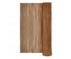 vidaXL Recinzione recinto da giardino in salice naturale 300 x 100 cm