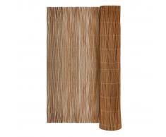 vidaXL Recinzione recinto da giardino in salice naturale 400 x 200 cm