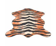 vidaXL Tappeto Sagomato 110x150 cm Stampa a Tigre