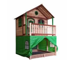 AXI Tenda per Casa Bambini in Plastica Verde A030.186.00