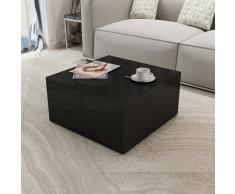 Tavolino Caffè Brillante Nero