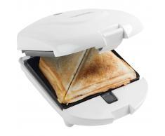Bestron 3-in-1 Tostapane Macchina cialde e panini 520W bianco ADM2003W