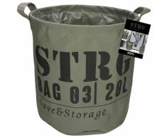 Gusta Cestino Portaoggetti 28x28 cm Verde Militare 04126100