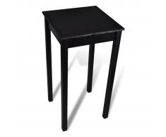 Tavolino bar tavolo da pranzo 55 x 55 x 107 cm