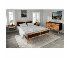 Letto in legno massello » acquista Letti in legno massello online ...