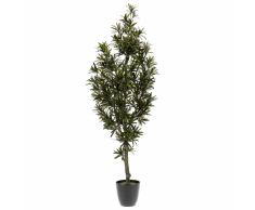 Emerald Pianta di Podocarpo Artificiale Verde 100 cm 420295